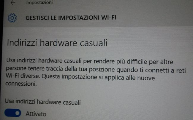 hardware casuale